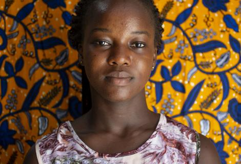 Irene is a member of the Young Urban Women's Movement, an organised group of young women in urban and peri-urban areas across Ghana