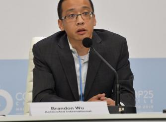 Brandon Wu, Director of Policy and Campaigns, ActionAid USA